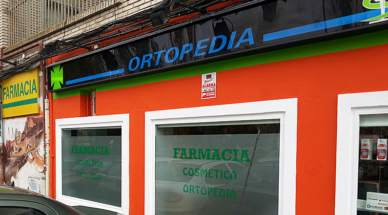 Rótulos - Farmacia